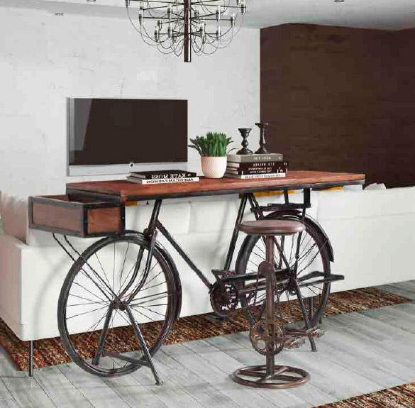 Imagen de la Consola Mesa-TV Bicicleta