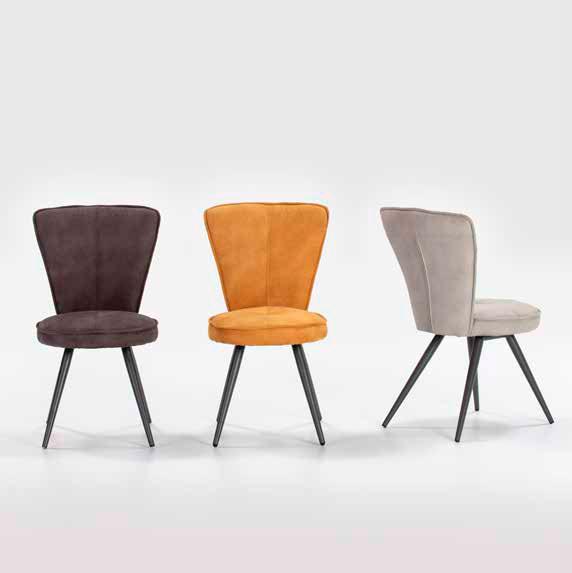 Imagen de varias sillas de la Serie Minty